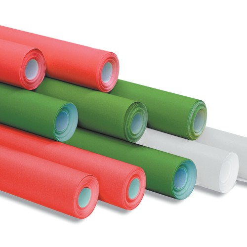 10 Rolls of Christmas Themed Poster Paper