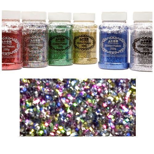 Multi-Colour Glitter Shaker - 250g