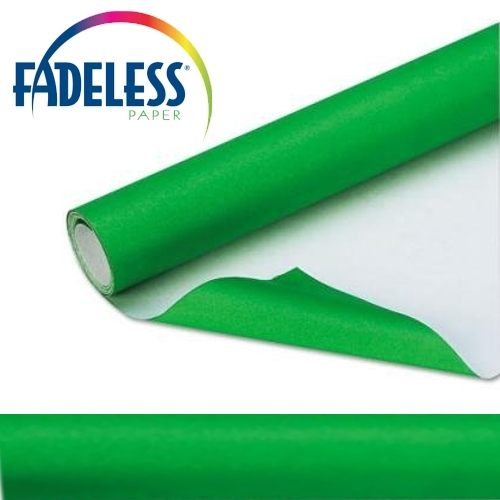 Apple Green Fadeless Display Paper 15m Roll