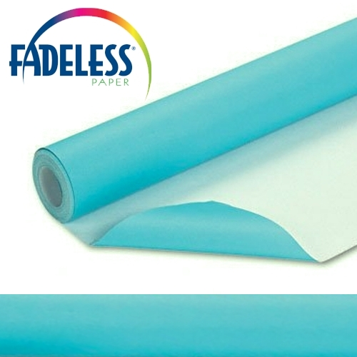Azure Fadeless Display Paper, 1218mm x 3.6m
