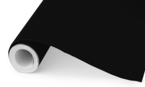 Black Poster Paper 25m Roll
