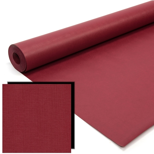 Claret Milskin Frieze Display Paper Rolls