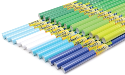 Cool Colours Fadeless Display Paper Stockroom Assortment