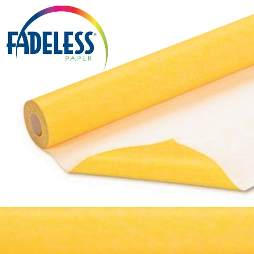Dark Yellow Fadeless Display Paper, 609mm x 18m
