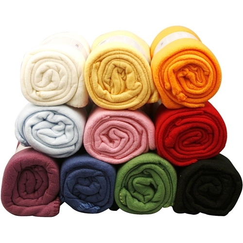 Fleece Fabric in 10 Assorted Colours