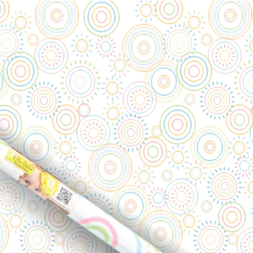 Hopscotch Circles - Ella Bella Backdrop Paper