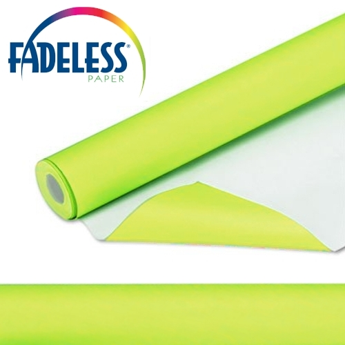 Lime Green Fadeless Display Paper 15m Roll