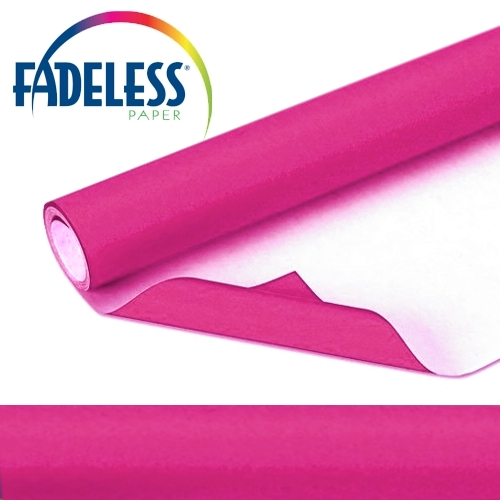 Magenta Fadeless Display Paper, 609mm x 18m