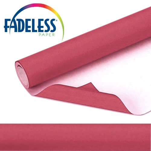 Maroon Fadeless Display Paper 15m Roll