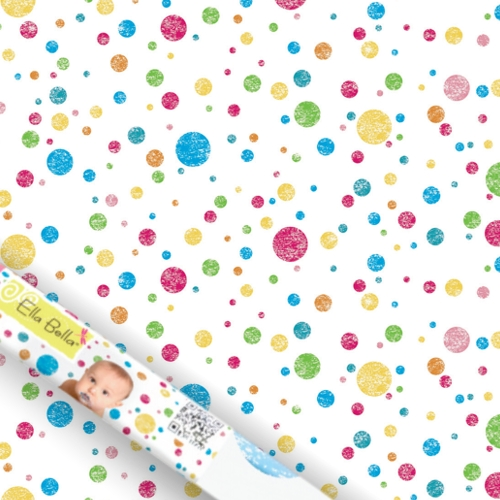 Multi Coloured Dots Photography Backdrop Paper