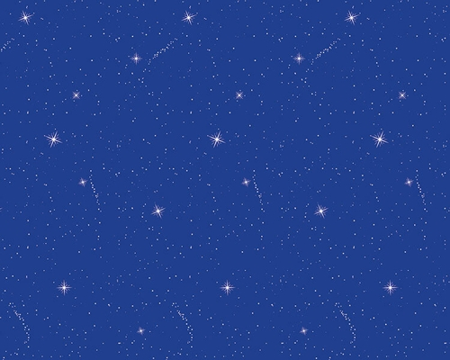 Night Sky Fadeless Design Display Paper, 3.6m