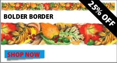 Autumn Leaves Bolder Borders sale