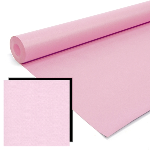 Pink Milskin Frieze Display Paper Rolls