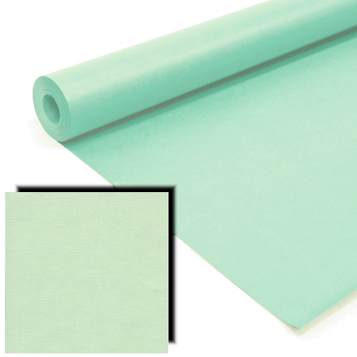 Pistachio Milskin Frieze Display Paper Rolls