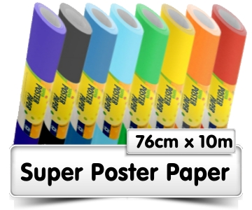 Poster Paper 10m Rolls