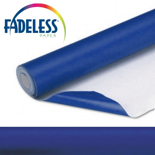 Royal Blue Fadeless Display Paper, 609mm x 18m