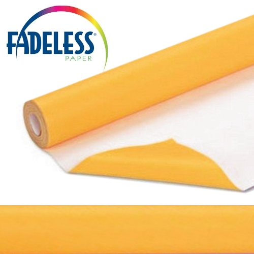Sunset Gold Fadeless Display Paper, 1218mm x 3.6m