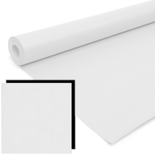 White Milskin Frieze Display Paper Rolls