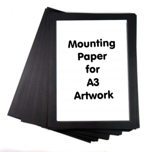 Mounting Paper A3+ Black