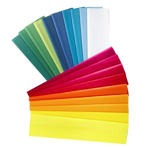 Tissue Paper 508mm x 762mm 20 Sheets - 10 Asstd Cool & Warm Col
