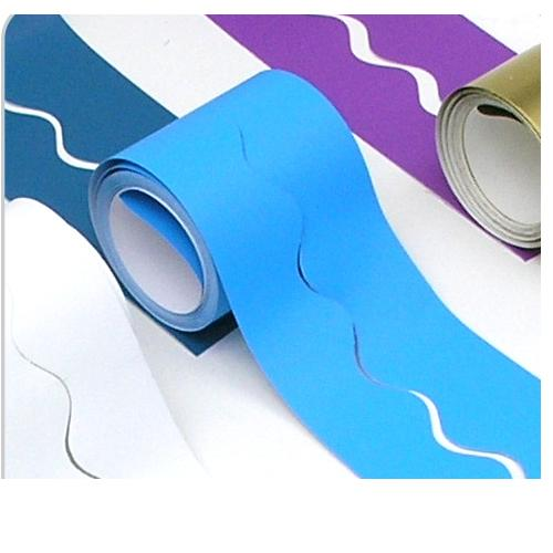 Fadeless Card Border Roll - Bright Blue