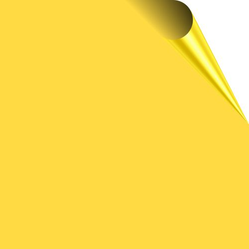 Yellow Durafrieze Display Paper 25m Roll