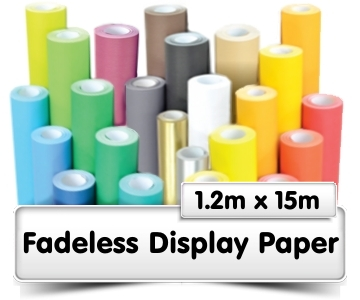 Fadeless Display Paper 15m