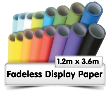 Fadeless Display Paper 3.6m