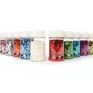 Square Cut Glitter Assortment - 100g