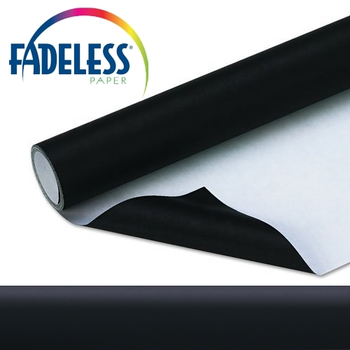 Black Fadeless Display Paper 15m Roll