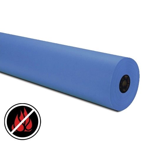 Blue Flame Retardant Paper, Large 300m Roll