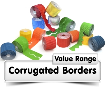 Corrugated Borders Value Range