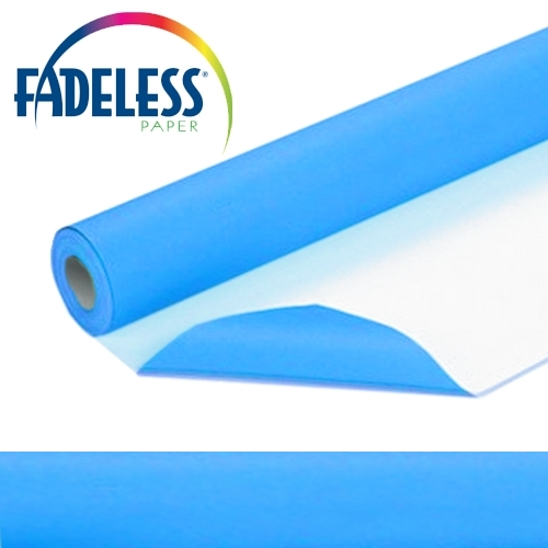 Bright Blue Fadeless Display Paper 15m Roll