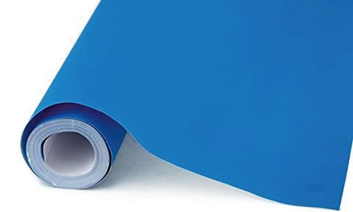 Bright Blue Super Wide Poster Paper
