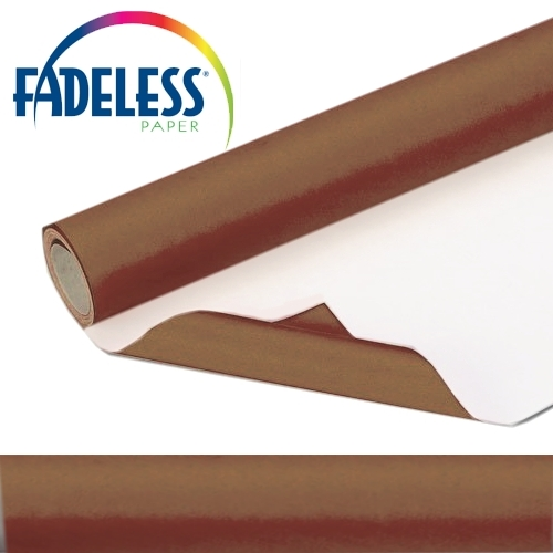 Brown Fadeless Display Paper 15m Roll
