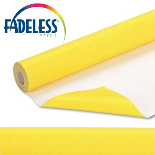 Canary Fadeless Display Paper, 609mm x 18m