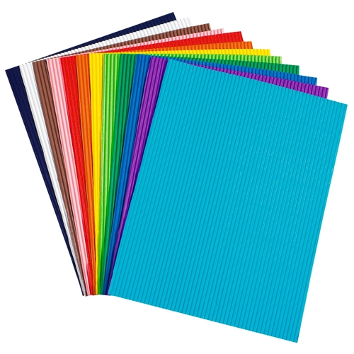 Bright Corrugated Paper