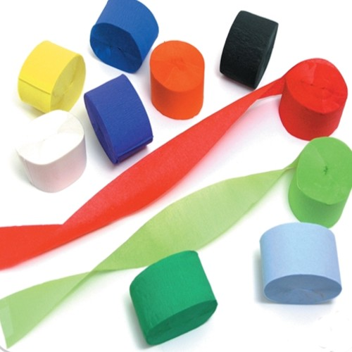 Crepe Paper Streamers Assortment