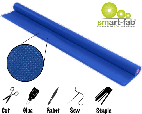 Dark Blue Smart-Fab Display Fabric