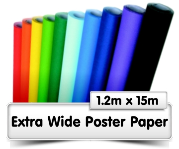 Extra Wide Poster Paper