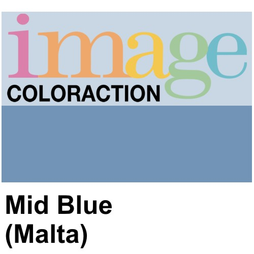 A2 Mid Blue (Malta) Coloured Card, 120gsm