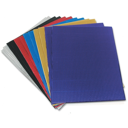 Metallic Corrugated Paper