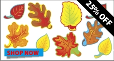 Autumn Leaves Accent Set Sale
