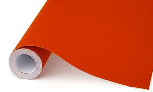 Orange Super Wide Poster Paper