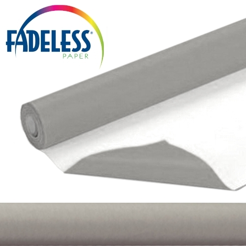 Pewter Fadeless Display Paper 15m Roll