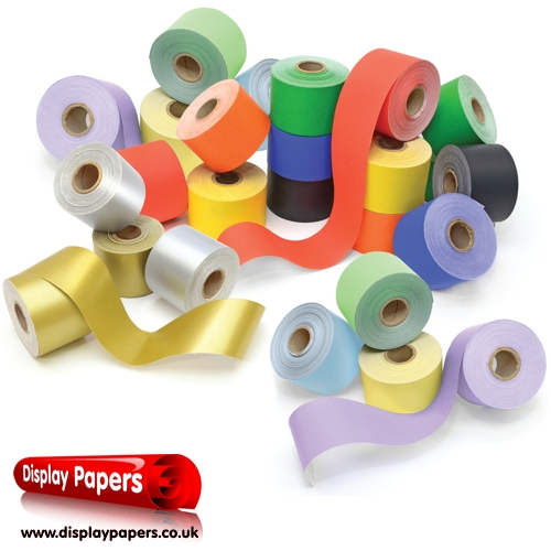 Straight Edge Poster Paper Borders, 24 Rolls