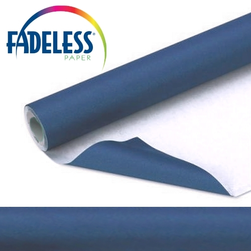 Rich Blue Fadeless Display Paper 15m Roll