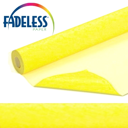 Sunshine Yellow Fadeless Display Paper, 1218mm x 3.6m