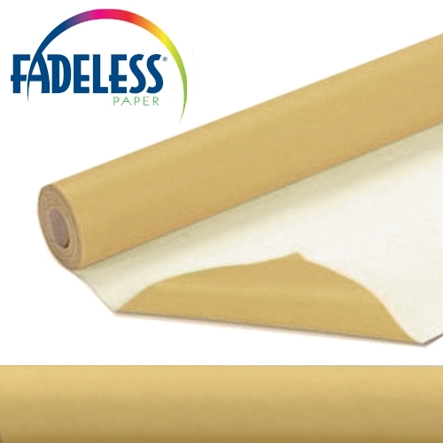 Tan Fadeless Display Paper 15m Roll