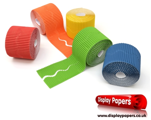 Scalloped Corrugated Border Rolls Assortment